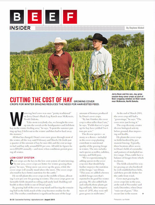 Successfull Farming Magazine, August 2015