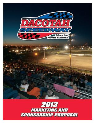 Dacotah Speedway, 2013