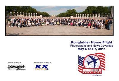 Roughrider Honor Flight, May 2011